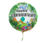 Folat Heliumballon Happy Birthday Dinosaurus