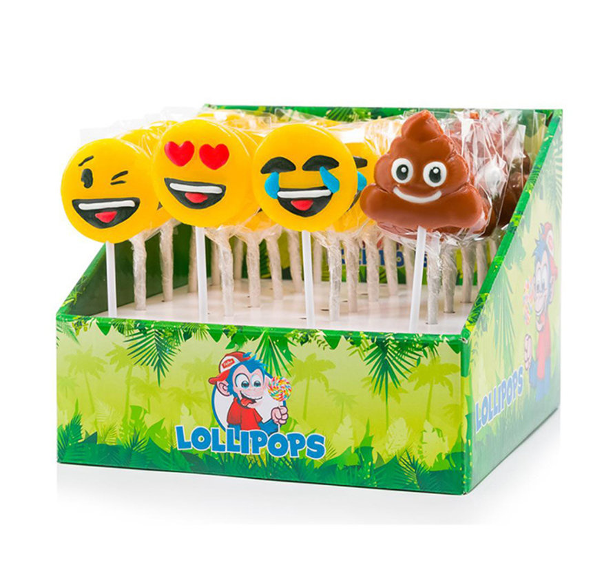Emoticon Lolly | 40 gram