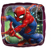 Qualatex Heliumballon Spiderman Vierkant