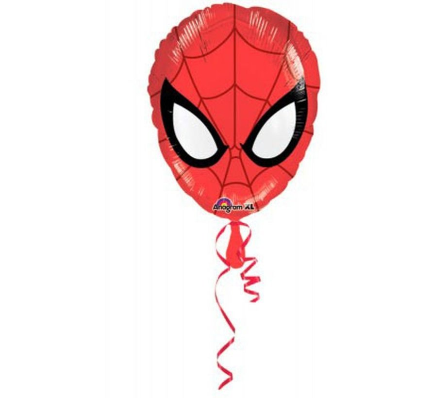 Heliumballon Spiderman Shape