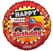 Anagram Heliumballon Brandweer Happy Birthday