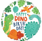 Anagram Heliumballon Happy Dino Birthday
