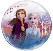 Qualatex Heliumballon Bubbles Frozen 2