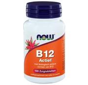 NOW Foods Vitamine B12 Actief zuigtabletten