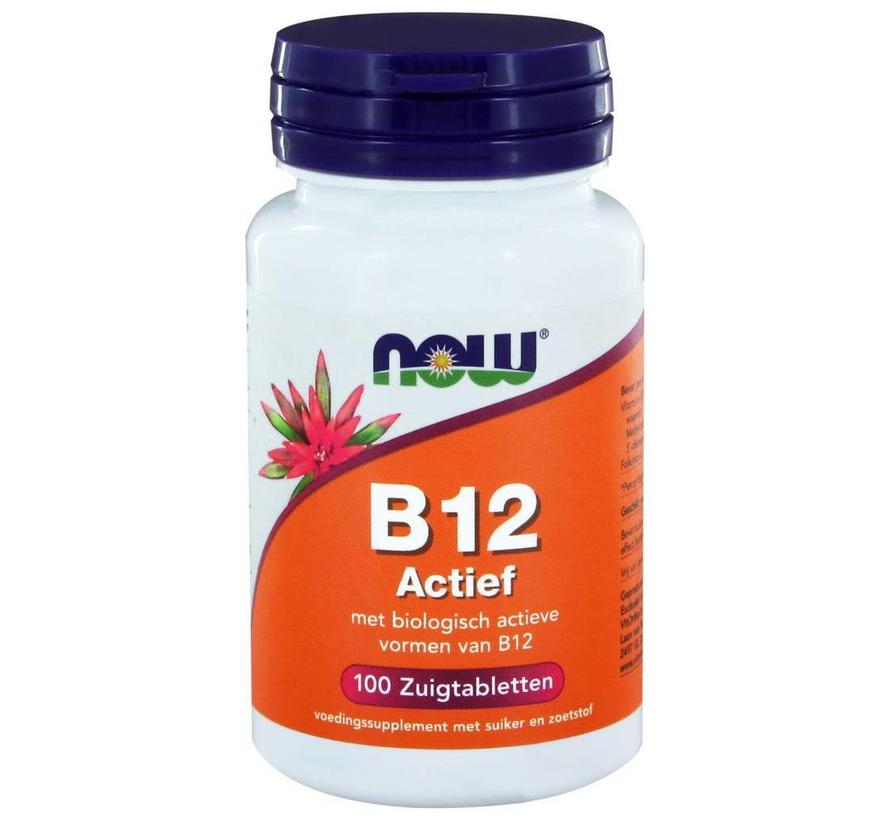 Vitamine B12 Actief zuigtabletten 100 stuks
