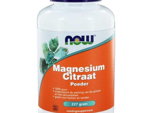 NOW Foods Magnesium Citraat poeder