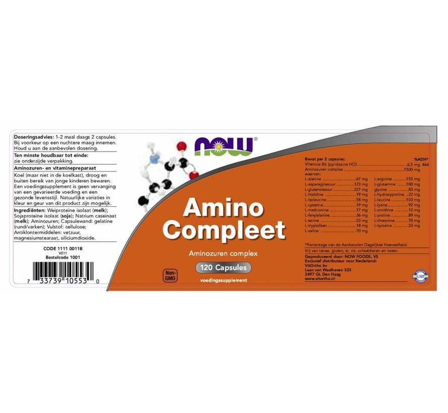 Amino Compleet 120 capsules