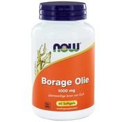 NOW Foods Borage Olie 1000 mg  60 softgels