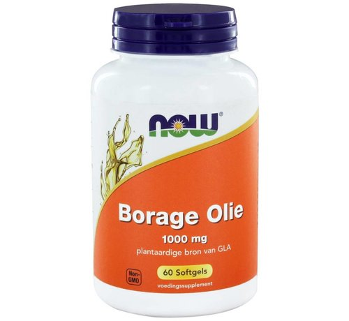 NOW Foods Borage Olie 1000 mg  60 softgels