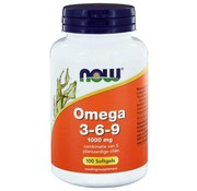 NOW Foods Omega 3-6-9 1000 mg  100 softgels