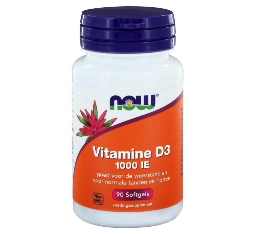 Vitamine D3 1000 IE  90 softgels