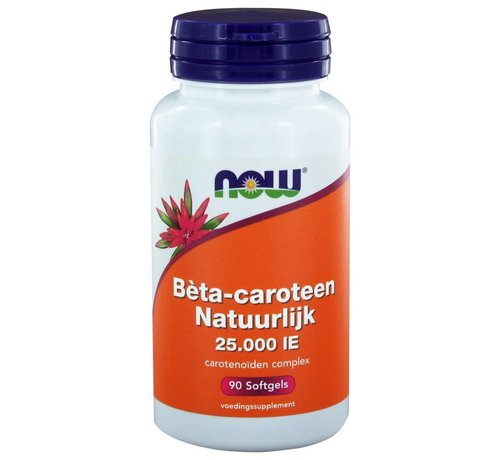 NOW Foods Bèta-caroteen Natuurlijk  90 softgels