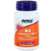 NOW Foods K2 Menachinon 7 100 µg  60 vegicaps