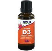 NOW Foods Vitamin D3 tropfen 1000 IE