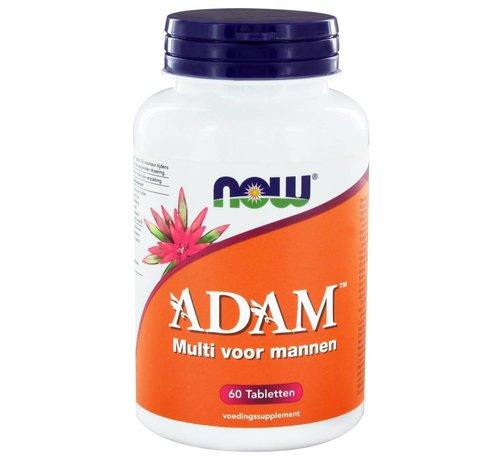 NOW Foods ADAM Multivitamine voor mannen  60 tabletten