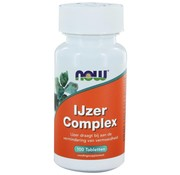NOW Foods Iron Complex 100 tablets