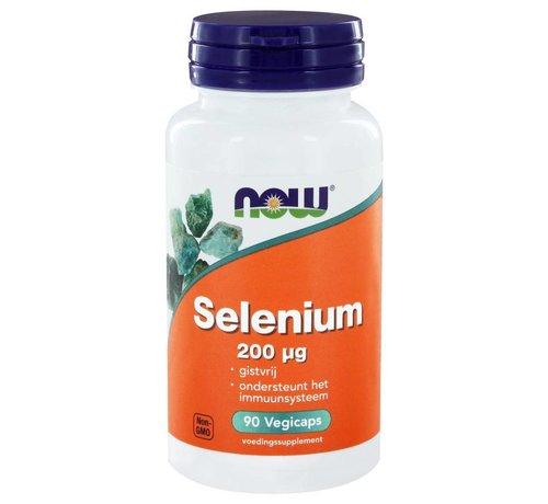 NOW Foods Selenium 200 µg  90 vegicaps