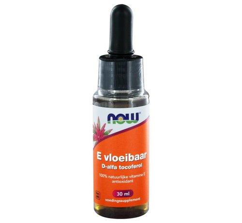 NOW Foods E Vloeibaar 13.650 IE d-alfa tocoferol 30 ml