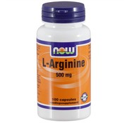 NOW Foods L-Arginine 500 mg.