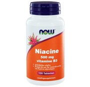 NOW Foods Niacine 500 mg Sustained Release (vit B3)