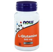 NOW Foods L-Glutamine 500mg