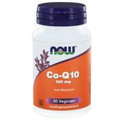 NOW Foods CoQ10 100 mg met Meidoorn