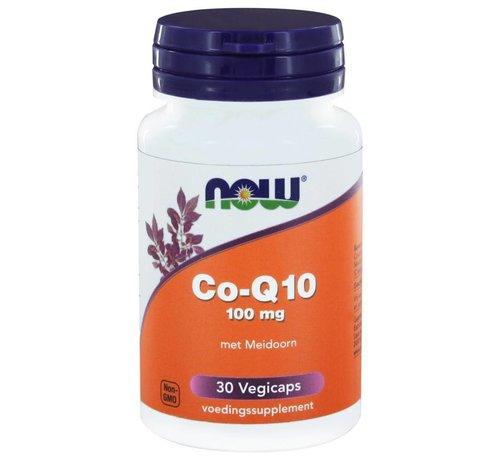 NOW Foods CoQ10 100 mg met Meidoorn 30 vegicaps