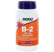 NOW Foods Vitamine B2 100 mg