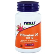 NOW Foods Vitamine D3 400 IE