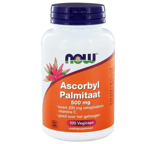 NOW Foods Ascorbyl Palmitaat 500 mg 100 vegicaps
