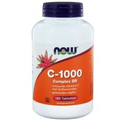 NOW Foods Vitamine C-1000 Complex SR Gebufferde C