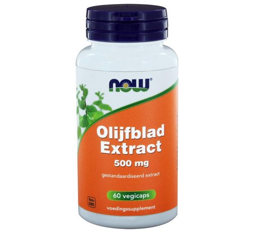 NOW Foods Olijfblad Extract 500 mg 60 capsules