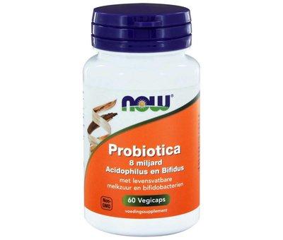 NOW Foods 8 Billion Acidophilus and Bifidus 60 vegicaps