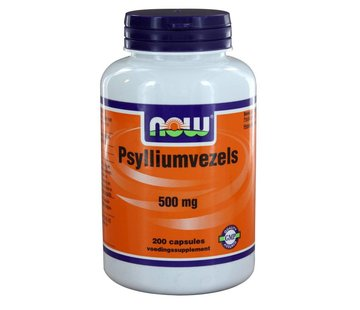 NOW Foods Psylliumvezels 500 mg