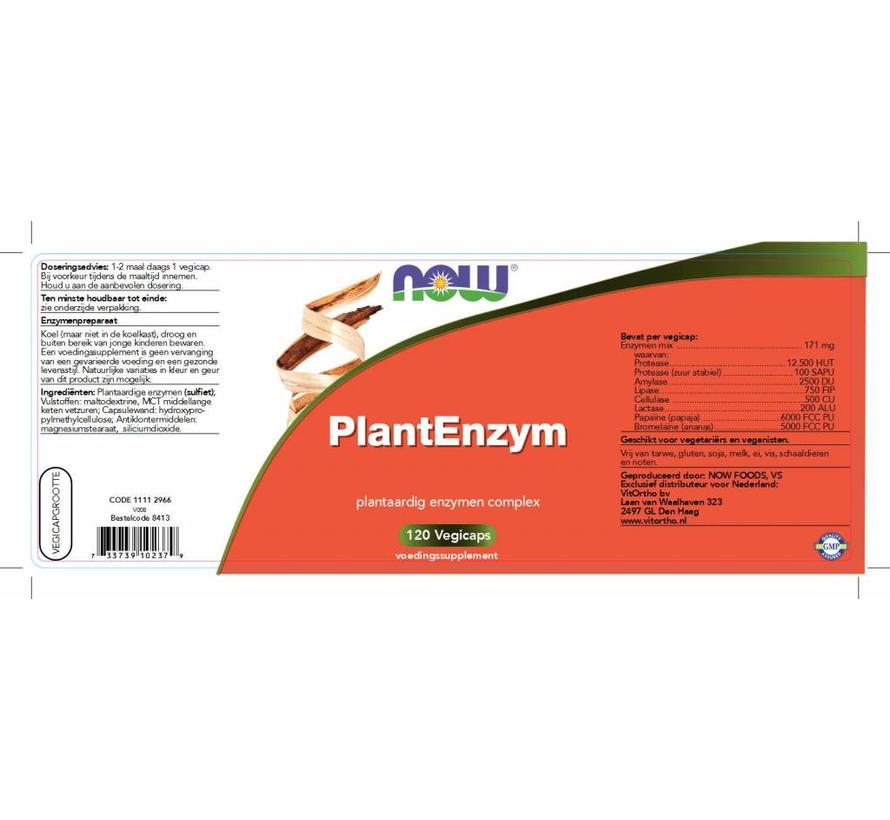 Plant Enzym 120 vegicaps