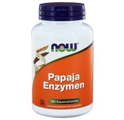 NOW Foods Papaya Enzymen