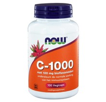 C 1000 Caps met 100mg Bioflavonoïden 100 vegicaps