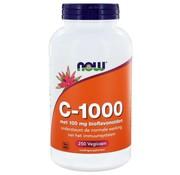 NOW Foods C 1000 Caps met 100 mg Bioflavonoïden  250 caps