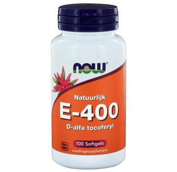 NOW Foods E-400 d-alfa Tocoferyl