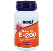 E-200 Gemengde Tocoferolen 100 softgels