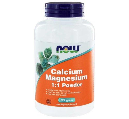 NOW Foods Calcium & Magnesium 1:1 Poeder 227 gram