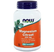 NOW Foods Magnesium Citraat 200 mg