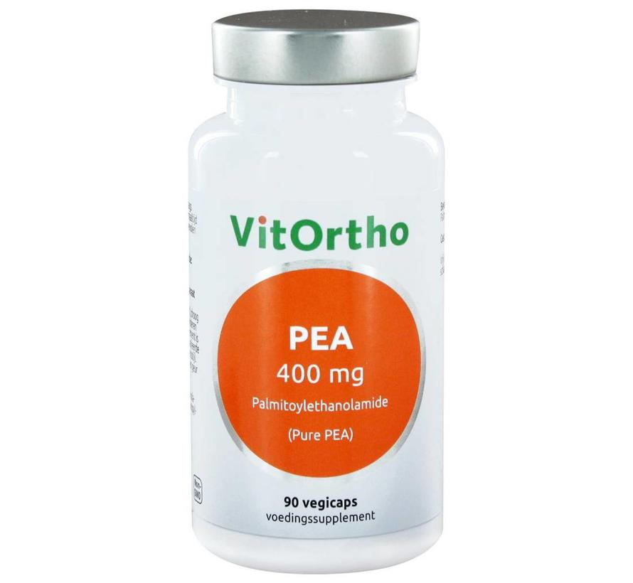 PEA 400 mg palmitoylethanolamide (Pure PEA) 90 vegicaps