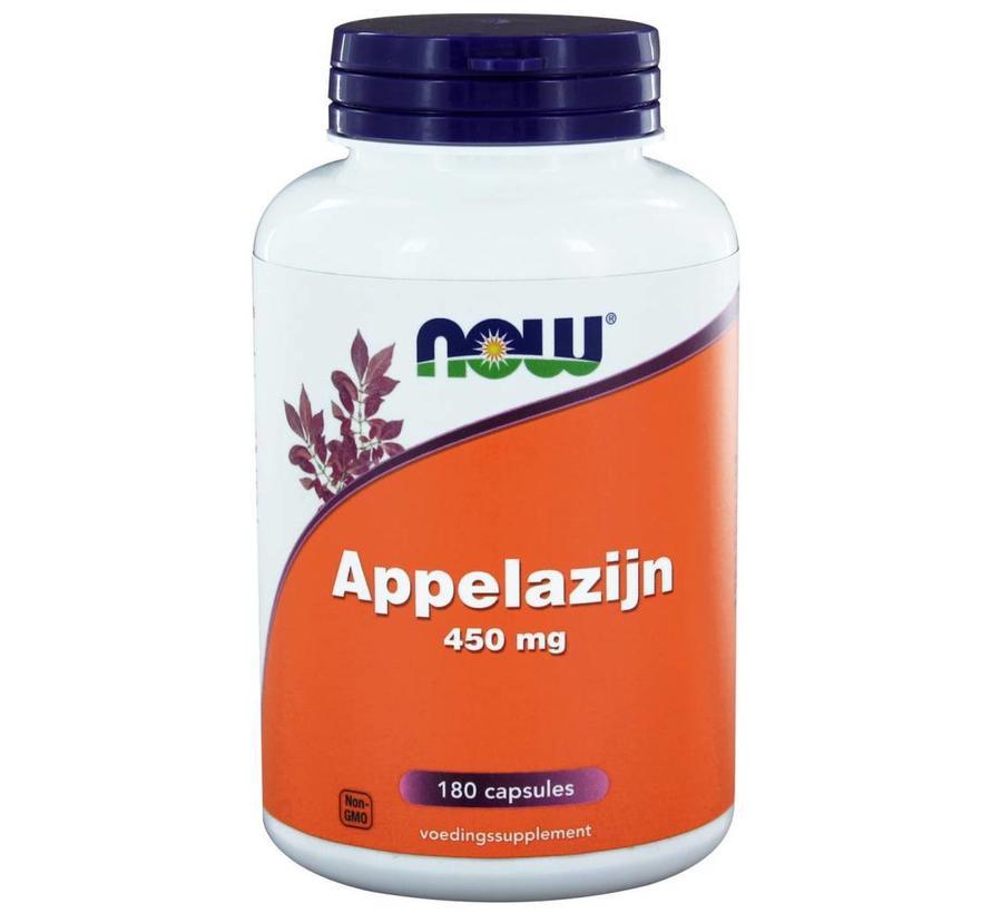 Appelazijn 450 mg 180 caps NOW Foods