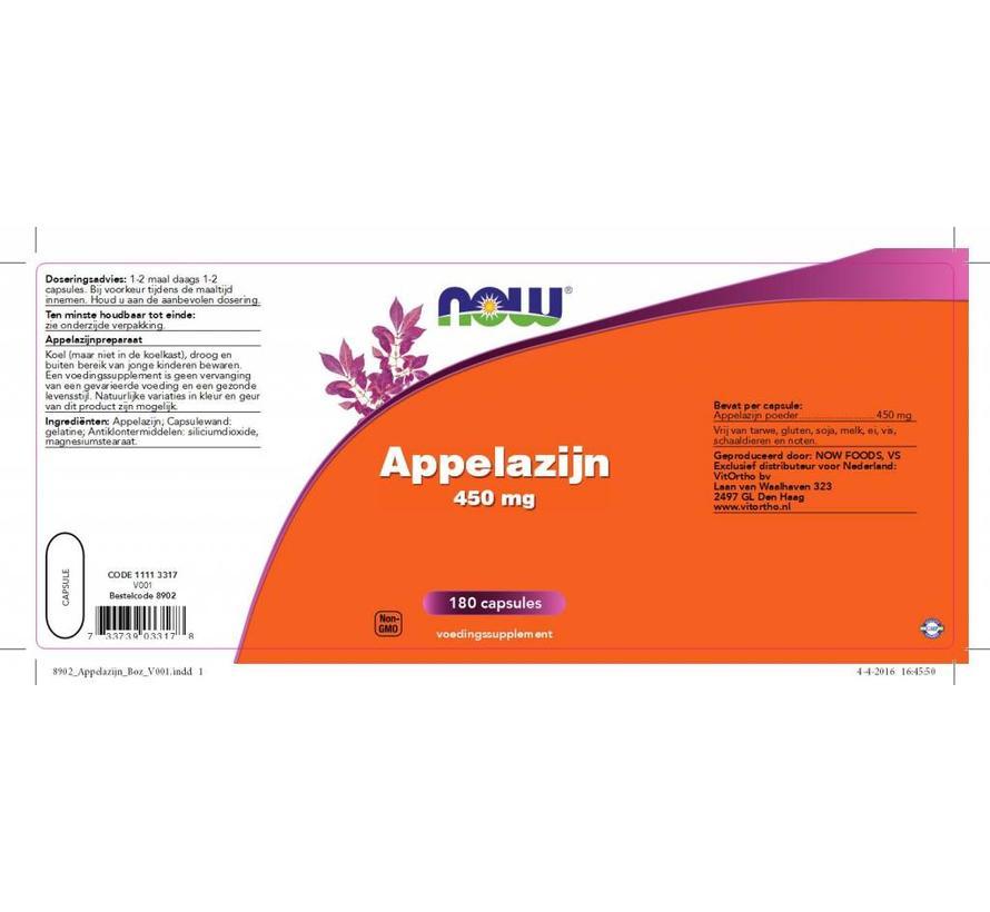 Appelazijn 450 mg 180 caps