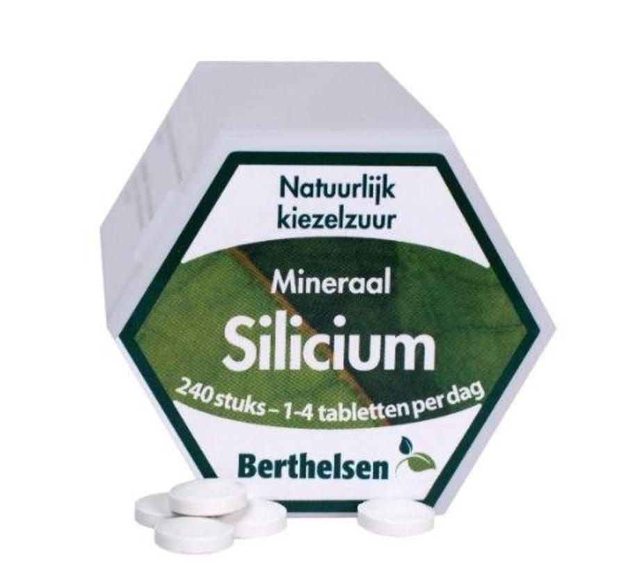 Silicium - Natuurlijk kiezelzuur 240 tabletten