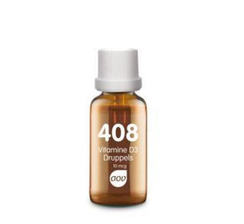 AOV 408 Vitamine D3 druppels 10mcg