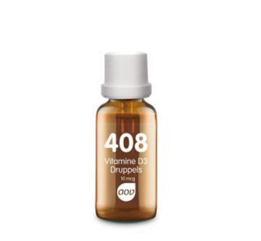 408 Vitamine D3 druppels 10mcg