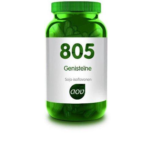 AOV 805 Genisteine 60 Vegetarische capsule