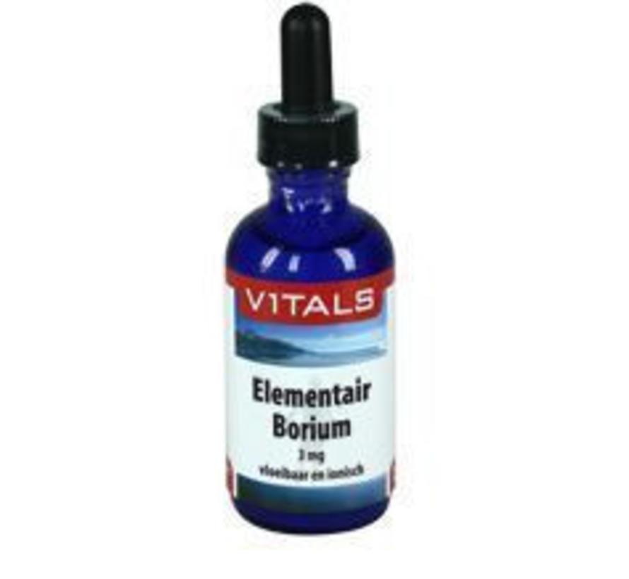Elementair borium 60ml flussig